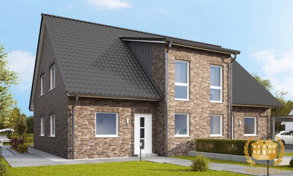Formvollendete Doppelhaushälfte