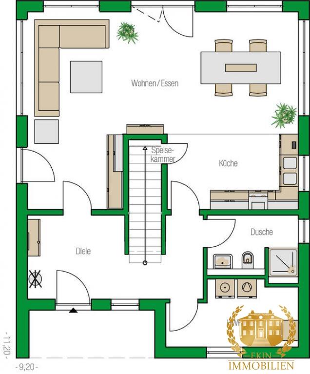 Individuelles Einfamilienhaus mit faszinierendem Design